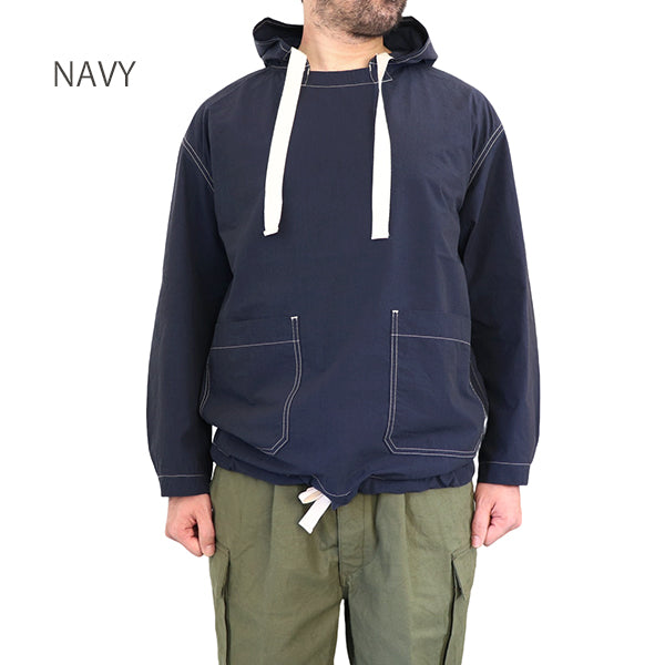 NIGEL CABOURN <br>ナイジェル・ケーボン <br>ARMY SMOCK <BR>COTTON NYLON SULFUR DYE <br>3 COLORS <BR>MAIN LINE <BR>