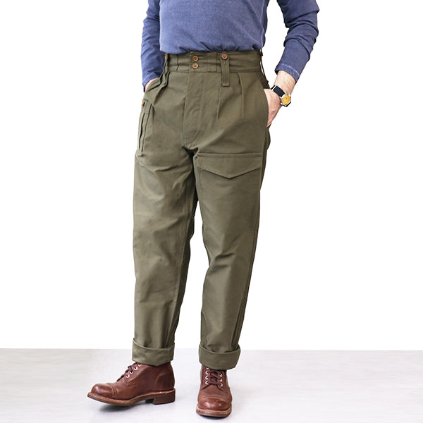 NIGEL CABOURN <br>ナイジェル・ケーボン <br>BRITISH ARMY PANT <br>DARK GREEN <BR>MAIN LINE <BR>