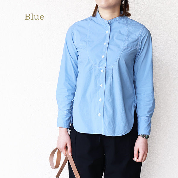 NIGEL CABOURN WOMANNigel Cabourn Woman VINTAGE SHIRT GARMENT DYED 3 COLORS MAIN LINE