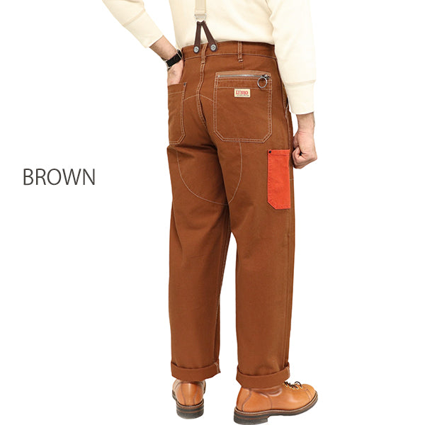 NIGEL CABOURN × LYBRO <br>ナイジェル・ケーボン × ライブロ <br>WELDERS PANT <br>10oz COTTON DUCK CANVAS <BR>2 COLORS <br>
