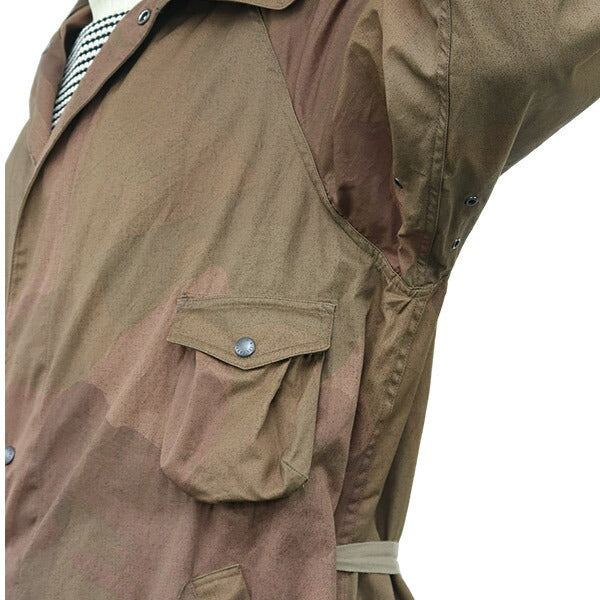 NIGEL CABOURNNigel Cabourn US ARMY GAS CAPE SAS CAMOUFLAGE 2 COLORS MAIN LINE