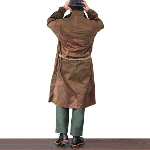 NIGEL CABOURN <br>ナイジェル・ケーボン <br>U.S. ARMY GAS CAPE <br>S.A.S. CAMOUFLAGE <br>2 COLORS <BR>MAIN LINE <BR>