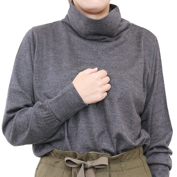 NIGEL CABOURN WOMAN TURTLE NECK WASHABLE wool 5 COLORS MAIN LINE