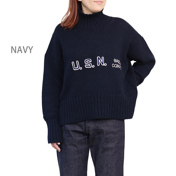NIGEL CABOURN WOMAN EMBROIDERY KNIT 2 COLORS MAIN LINE