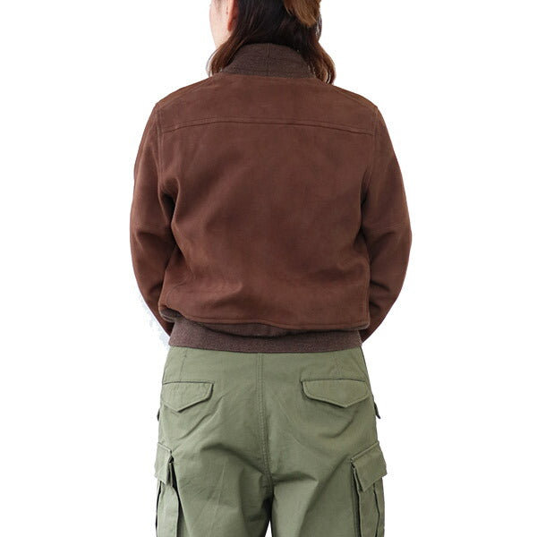 NIGEL CABOURN WOMANNigel Cabourn Woman AVIATION JACKET BROWN MAIN LINE