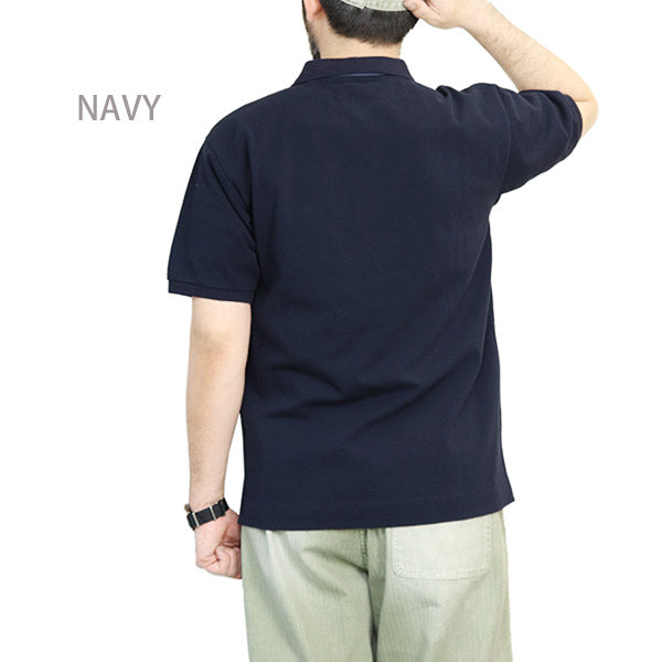 NIGEL CABOURN NEW RIBBON POLO 3 COLORS MAIN LINE