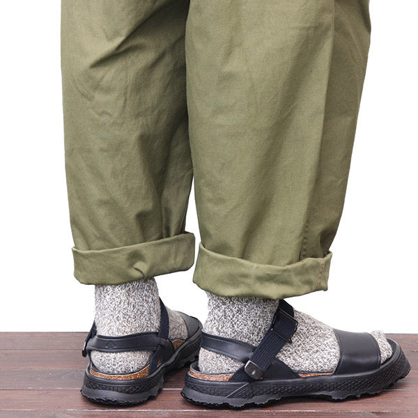 NIGEL CABOURN 1950s FRENCH ARMY SANDAL 2 COLORS MAIN LINE