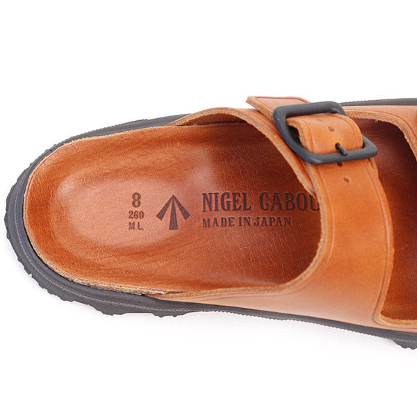 NIGEL CABOURN LEATHER SANDAL 2 COLORS MAIN LINE