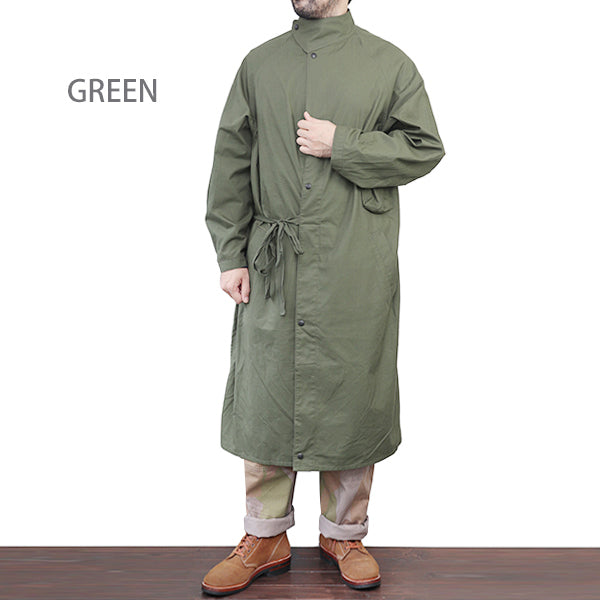 NIGEL CABOURN UK ARMY GAS COAT RIP CLOTH 2 COLORS MAIN LINE