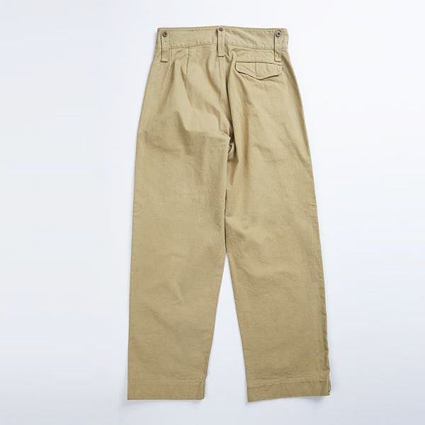 NIGEL CABOURN (SIZE: W30-W36) BRITISH ARMY PANT VINTAGE TWILL 2 COLORS MAIN LINE