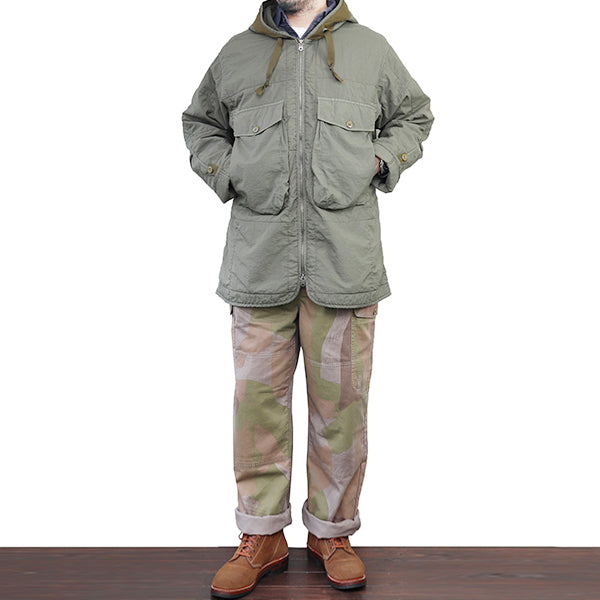 NIGEL CABOURN x LYBRO MIDFIELD LINER QUILTED NYLON 3 COLORS