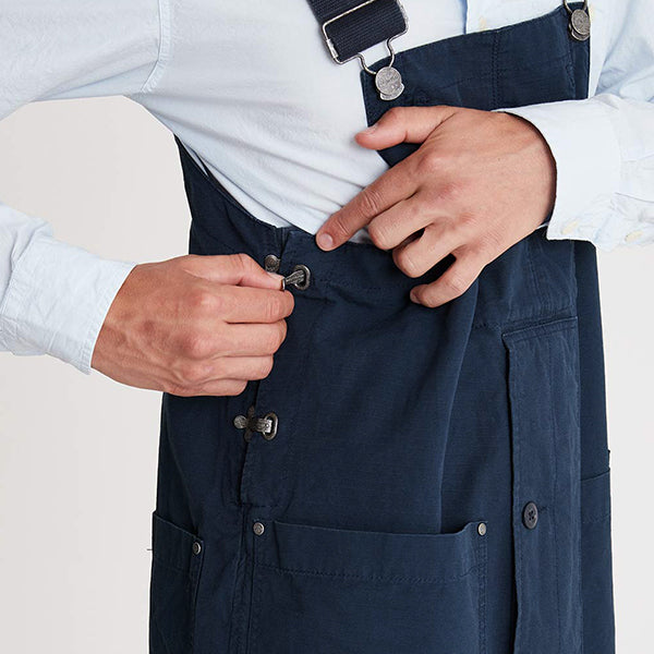 NIGEL CABOURN x LYBRO FACTORY DUNGAREE COTTON RIPSTOP 2 COLORS