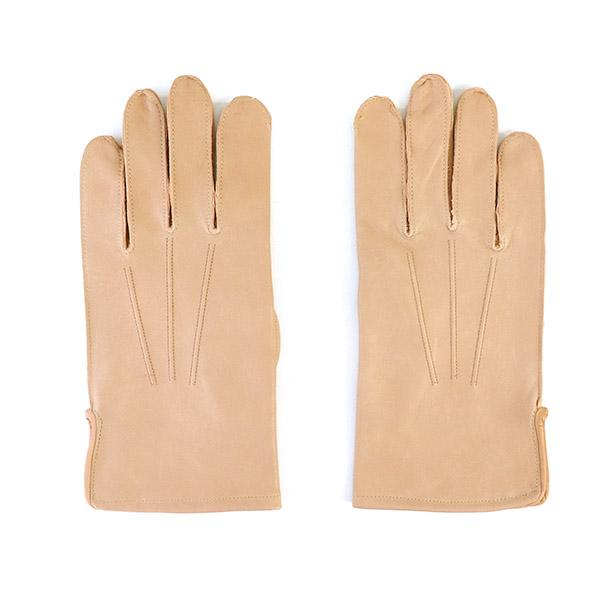 EASTMAN LEATHER CLOTHING OFFICERS GLOVES FLYING SUMMER 1942 PATTERN HORSE HIDE NATURAL