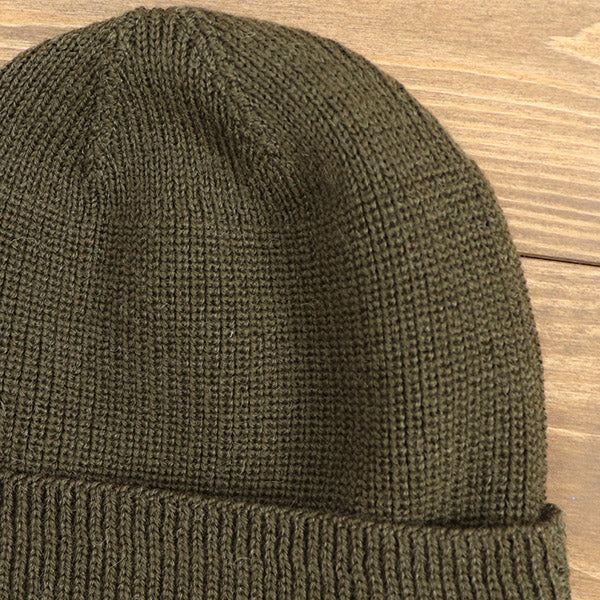 EASTMAN LEATHER CLOTHING TYPE A-4 MECHANICS CAP OLIVE MADE IN JAPAN