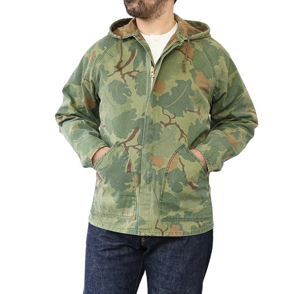 EASTMAN LEATHER CLOTHING COMBAT PARKA SPECIAL FORCES MITCHELL CAMO MADE IN JAPAN