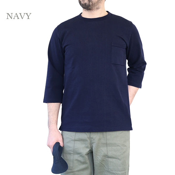 JACKMAN DOTSUME 1/2 SLEEVE T-SHIRT 4 COLORS MADE IN JAPAN