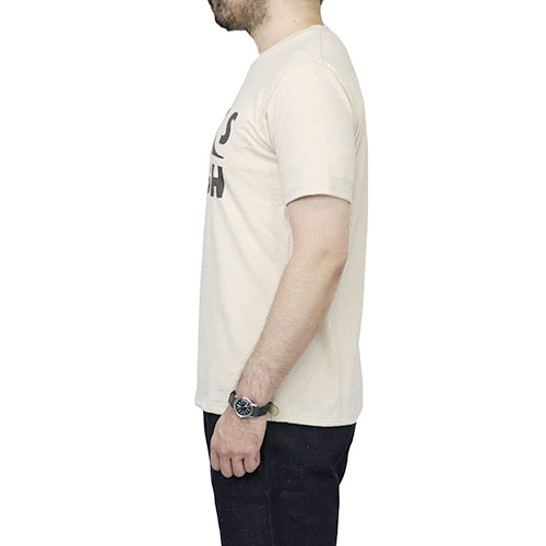 JACKMANJackman T-SHIRT PITTS BURGH IVORY MADE IN JAPAN