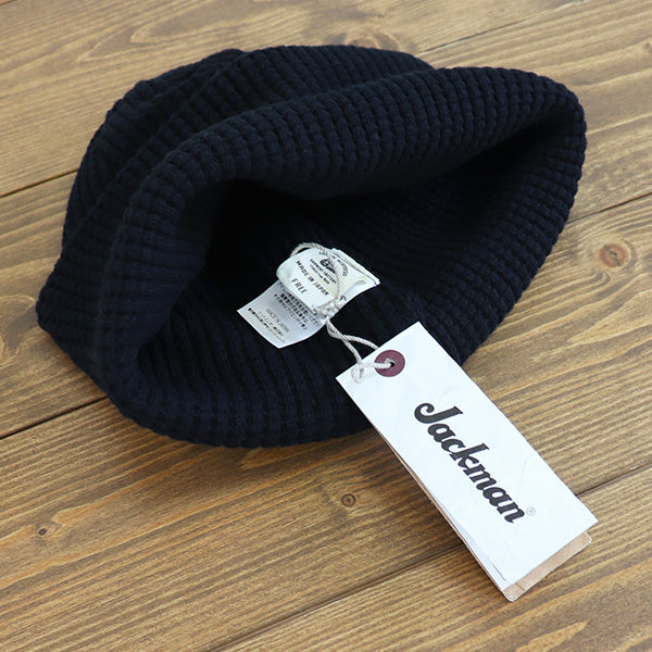 JACKMAN WAFFLE KNIT CAP 3 COLORS MADE IN JAPAN