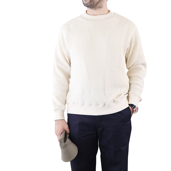 JACKMAN WAFFLE MIDNECK SHIRT 3 COLORS MADE IN JAPAN