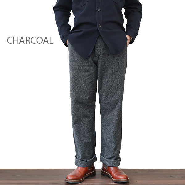 THE RITE STUFF DAYBREAK SALT & PEPPER WORK PANTS GRAINED CHAMBRAY 2 COLORS MADE IN JAPAN