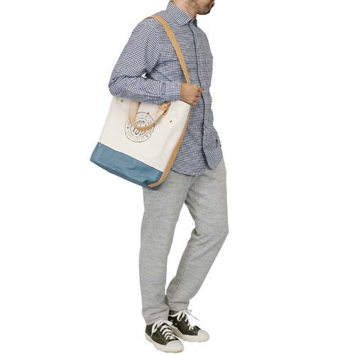 THE SUPERIOR LABORSuperior Labor CANVAS 2 WAY BAG BLUE GRAY