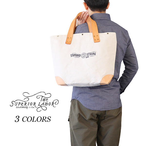 THE SUPERIOR LABORSuperior Labor MARKET BAG CANVAS x LEATHER 3 COLORS MADE IN JAPAN