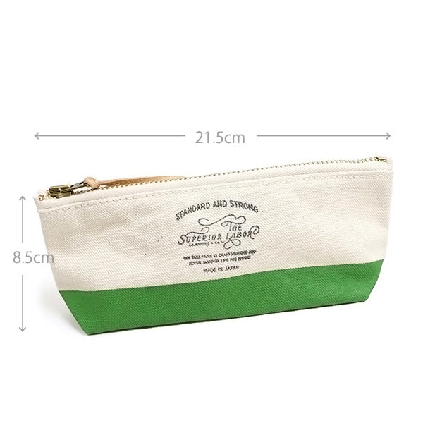 THE SUPERIOR LABORSuperior Labor ENGINEER CANVAS POUCH SHALLOW SIZE MADE IN JAPAN