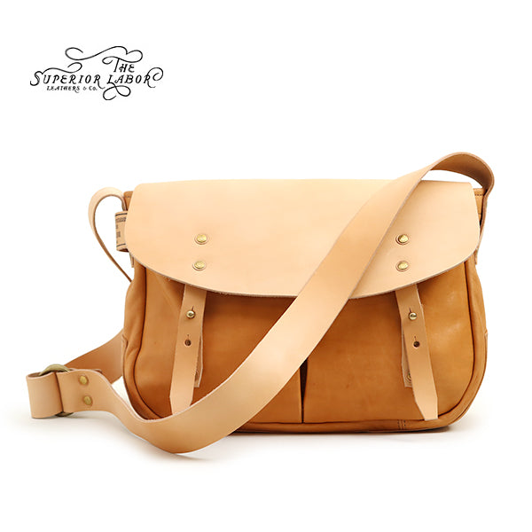 THE SUPERIOR LABORSuperior Labor HORSE LEATHER HUNTING BAG NATURAL MADE IN JAPAN