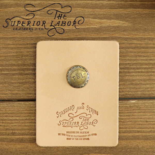 THE SUPERIOR LABOR BRASS PINS TYPE-A TSL LOGO MADE IN JAPAN
