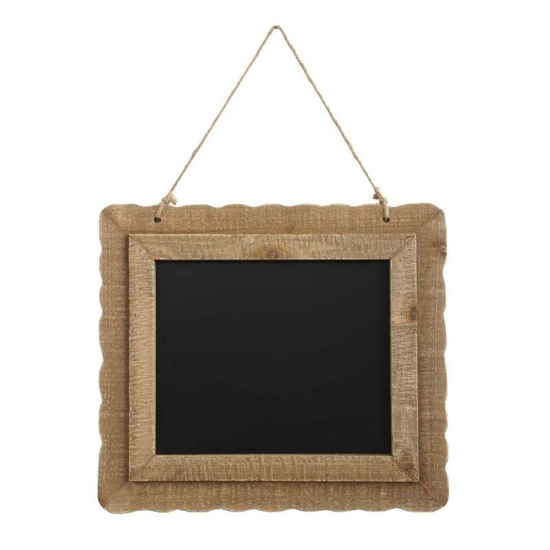 Chalkboard with Jute Rope