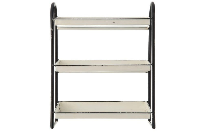 Metal Three-Tier Tray