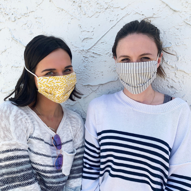 Pleated Face Masks