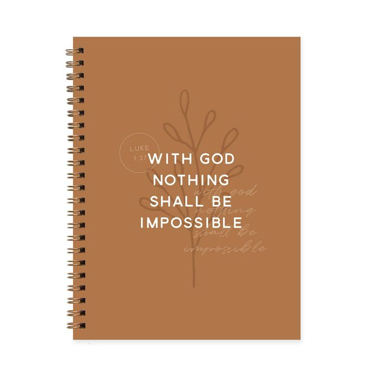 Nothing Shall Be Impossible Journal