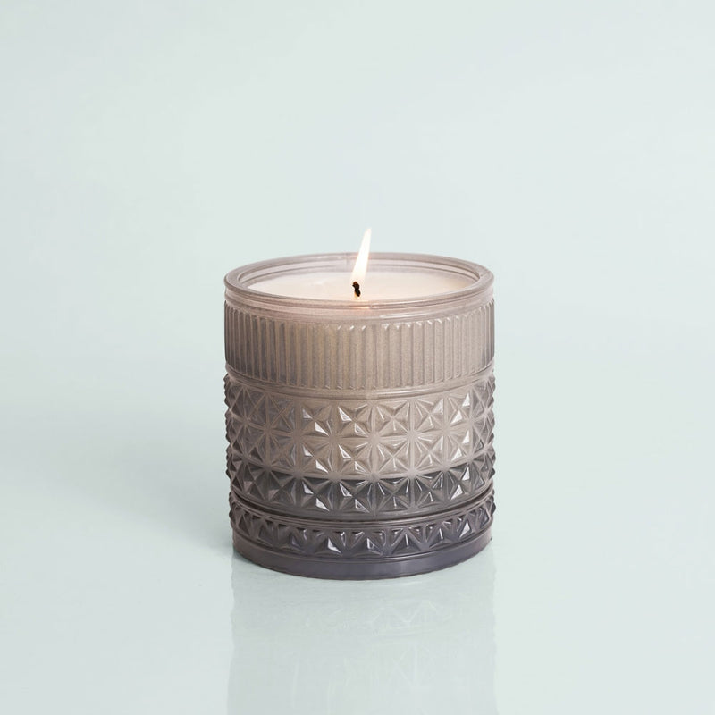 Rain Muse Faceted Candle