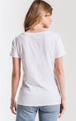 Perfect V-Neck Tshirt - White