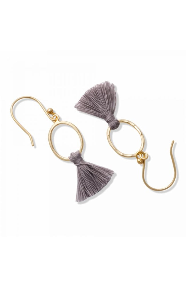 Loopy Tassel Earrings