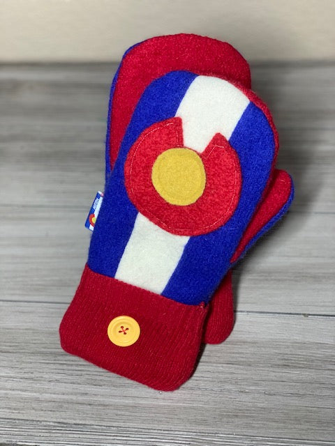 Colorado Flag Mittens