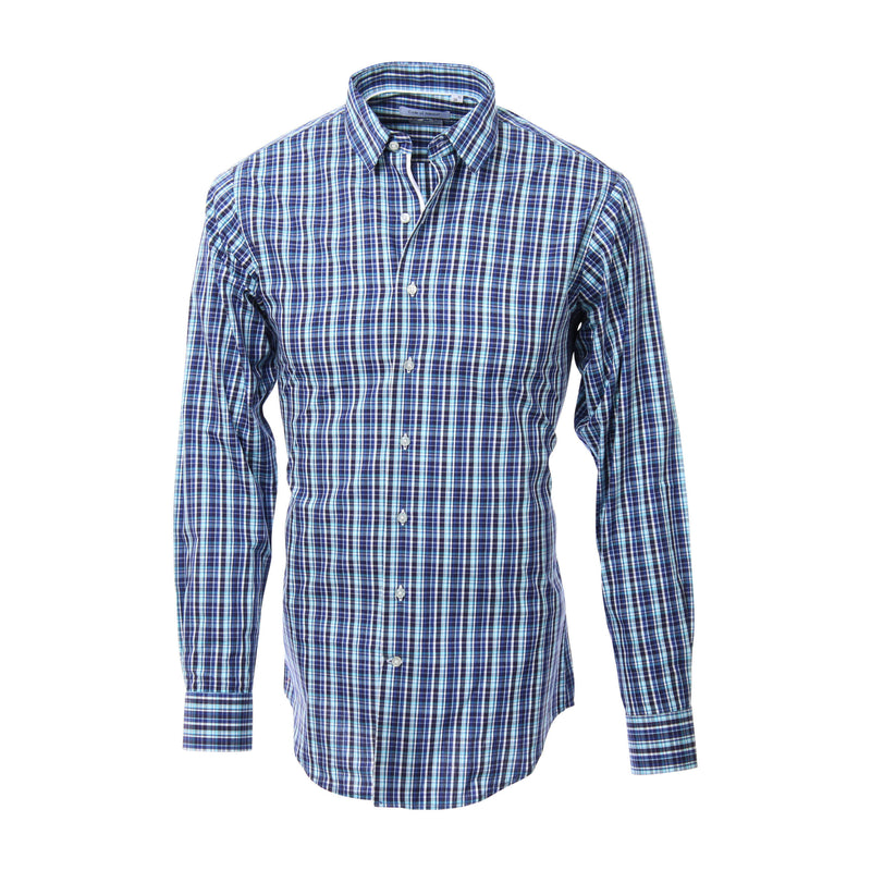Colt shirt checked blue