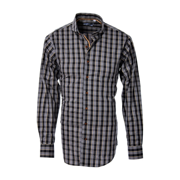 OCELOT CHECKED GRAY SHIRT