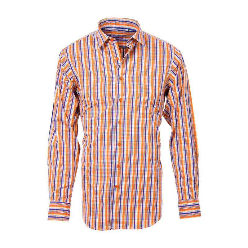 Droid Orange Check shirt