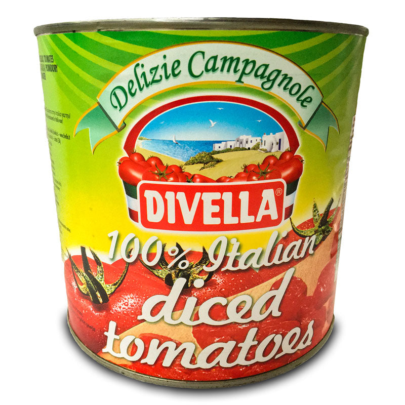 Divella Chopped Tomatoes, 2.5kg
