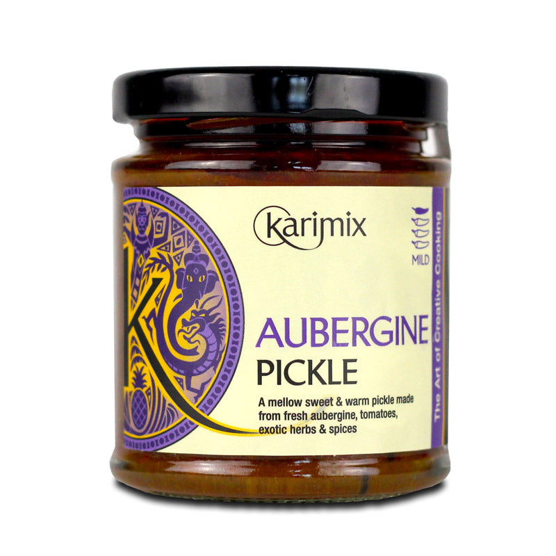 Aubergine Pickle, 180g