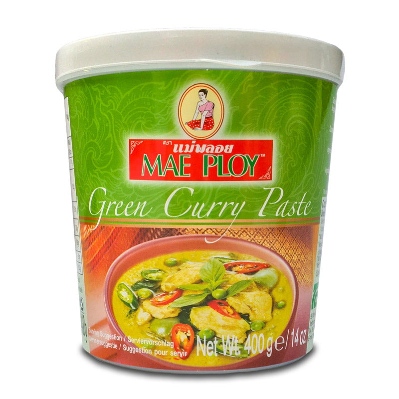 Mae Ploy Thai Green Curry Paste, 400g