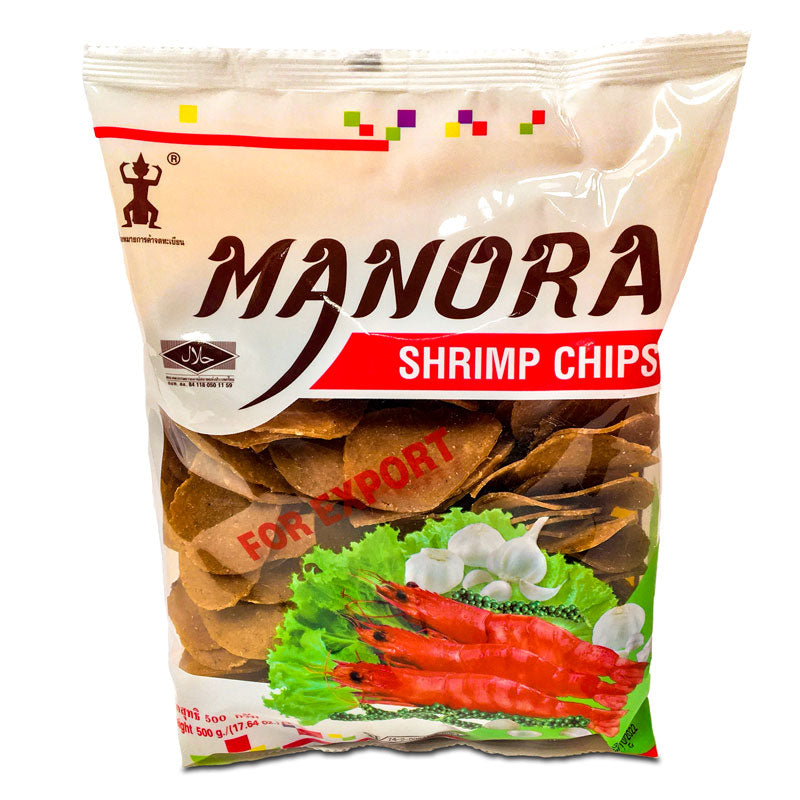 Manora Uncooked Shrimp Crackers, 500g