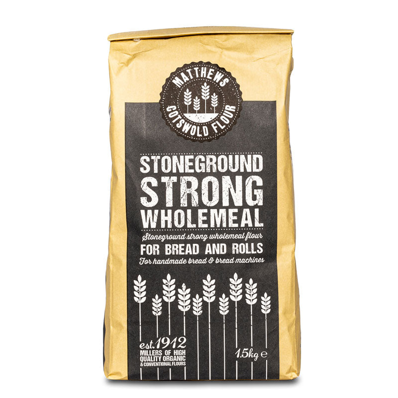 Strong Stoneground Wholemeal Flour, 1.5kg