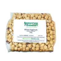 Whole Blanched & Roasted Hazelnuts, 500g