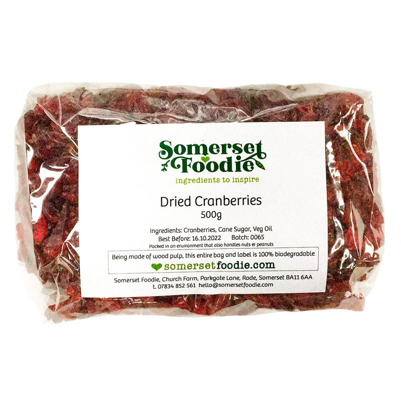 Dried Cranberries, 500g