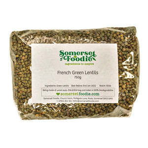 French Green Speckled Lentils, 750g