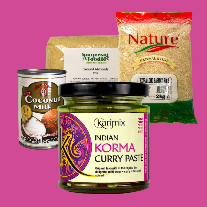 Indian Korma Kit Box