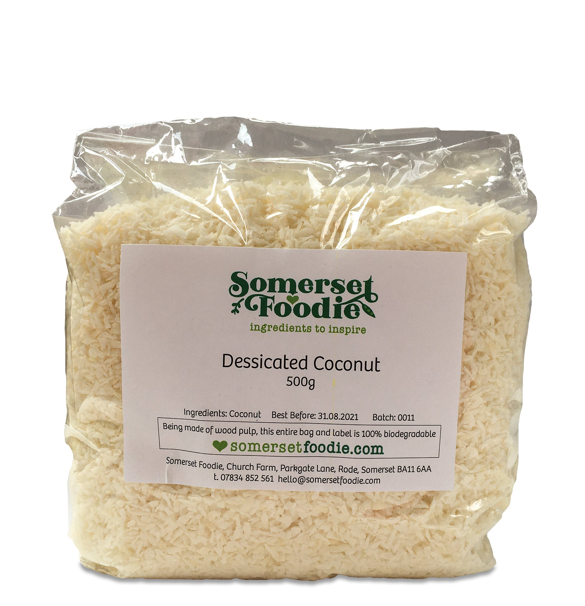Desiccated Coconut, 500g